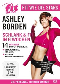 DVD Ashley Borden - Schlank & fit in 6 Wochen
