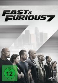 Fast & Furious 7 Cover