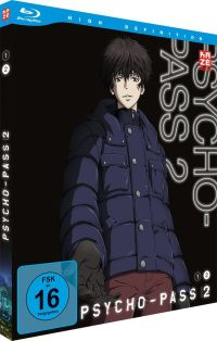 Psycho Pass - 2. Staffel - Box Vol.2 Cover