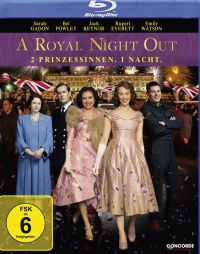 DVD A Royal Night Out - 2 Prinzessinnen. 1 Nacht