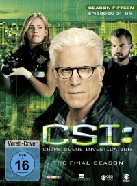 CSI: Crime Scene Investigation - Season 15.1 Cover