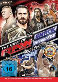 DVD WWE - Best of RAW & Smackdown 2015