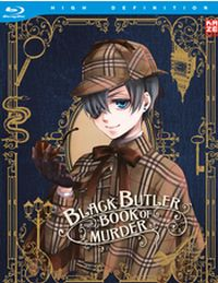 Black Butler - Book of Murder Cover