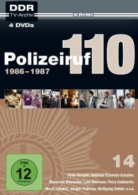Polizeiruf 110 - Box 14: 1986-1987 Cover