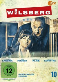Wilsberg 10 - Unter Anklage / Filmriss  Cover