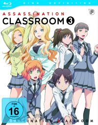 Assassination Classroom - Vol.3 Cover