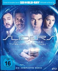 Sliders - Das Tor in eine fremde Dimension - Die komplette Serie Cover