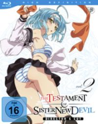 The Testament of Sister New Devil - Vol.2 Cover