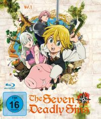 The Seven Deadly Sins - Blu-ray 1 - Episoden 1-6 Cover