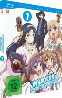 Invaders of the Rokujyoma - Vol.1 Cover