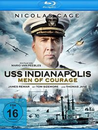 USS Indianapolis - Men of Courage Cover