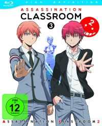 Assassination Classroom II - Vol. 3 / Ep. 13-18 Cover