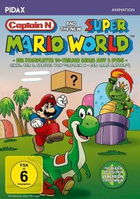 Captain N and the new Super Mario World Cover