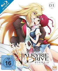 DVD Valkyrie Drive: Mermaid - Volume 1: Episode 01-04