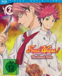 Food Wars! The Second Plate - 2. Staffel - Vol. 2 Cover