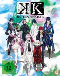 DVD K - Return of Kings - Staffel 2.1: Episode 01-05