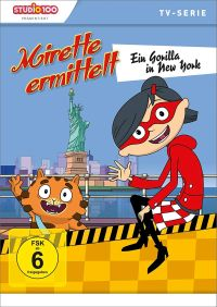 Cover Mirette ermittelt 2 - Ein Gorilla in New York