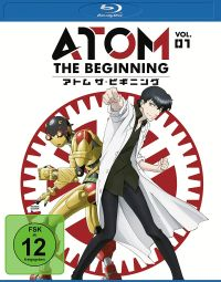 Atom the Beginning Vol.1 Cover