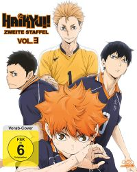 Haikyu!! Season 2 - Vol. 3 Cover