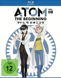 Atom the Beginning Vol.2 Cover