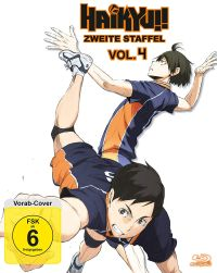 Haikyu!! Staffel 2 - Vol. 4  Cover