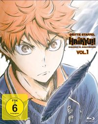 Haikyu!! Staffel 3 - Vol. 1 Cover