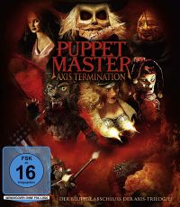 Cover Puppet Master: Axis Termination