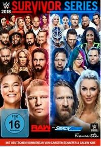 WWE: Survivor Series 2018  Cover