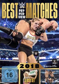 WWE - Best PPV Matches 2018  Cover