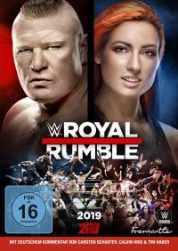 WWE - Royal Rumble 2019 Cover