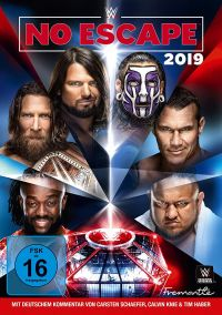 WWE - Elimination Chamber-No Escape 2019 Cover