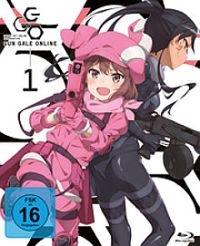 Sword Art Online Alternative: Gun Gale Online - Vol.1 Cover