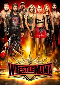 WWE - Wrestlemania 35  Cover