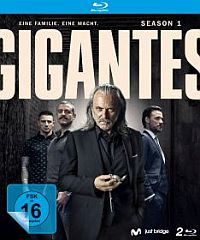 Gigantes - Season 1  Cover