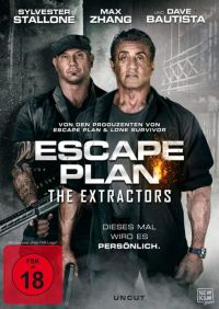 Escape Plan: The Extractors  Cover