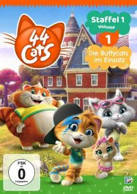 44 Cats – Staffel 1 Volume 1 Cover