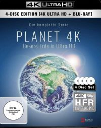 Planet 4K - Unsere Erde in Ultra HD Cover