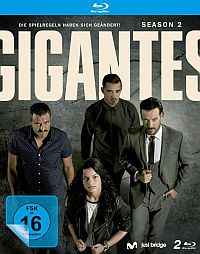 Cover Gigantes - Season 2