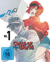 Cells at Work! - Vol. 1 Cover