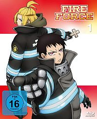 Fire Force - Vol. 1 Cover