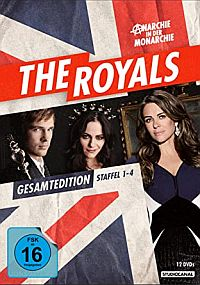 The Royals - Gesamtedition Staffel 1-4  Cover