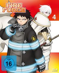 Fire Force - Vol. 4 Cover