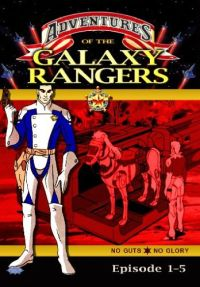 DVD Galaxy Rangers - Episoden 01-05