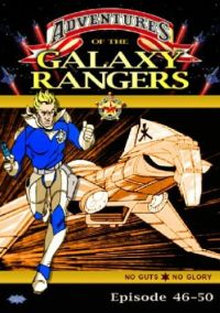 DVD Galaxy Rangers - Episoden 46-50
