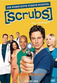 Scrubs: Die Anf�nger - Season 4 Cover