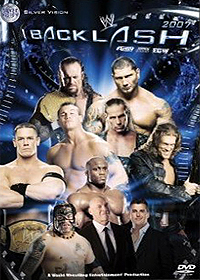 DVD WWE - Backlash 2007
