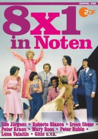 DVD 8x1 in Noten - Schlager, Evergreens und Musical-Melodien