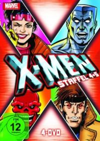 DVD X-Men - Staffel 4+5
