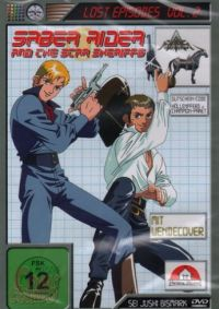 Saber Rider and the Star Sheriffs - Lost Episodes Vol.2 Cover