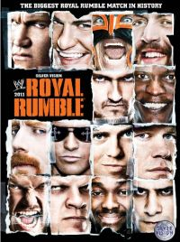 WWE - Royal Rumble 2011 Cover
